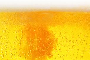ビールのクローズアップ背景の写真素材 [FYI00543981]