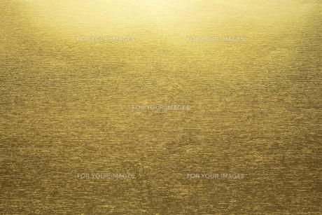 金紙のテクスチャの背景の写真素材 [FYI00543982]