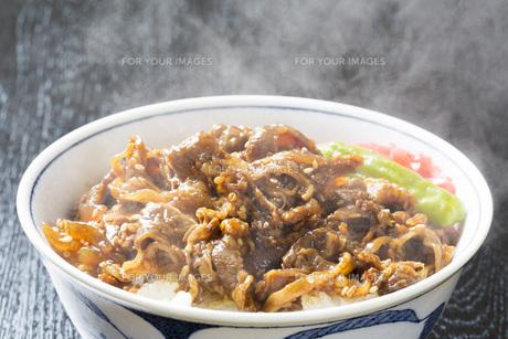 牛丼の写真素材 [FYI00544019]