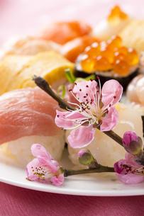 ひな寿司の写真素材 [FYI00544233]