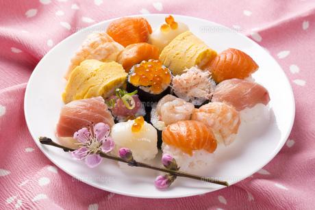 ひな寿司の写真素材 [FYI00544234]