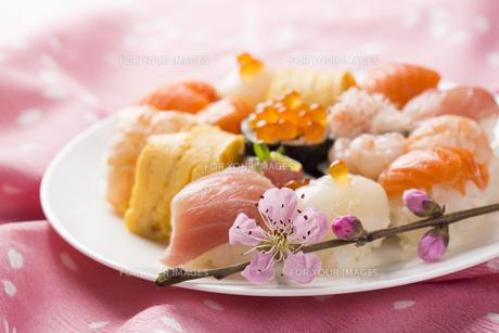 ひな寿司の写真素材 [FYI00544240]