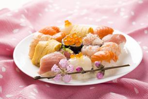 ひな寿司の写真素材 [FYI00544242]