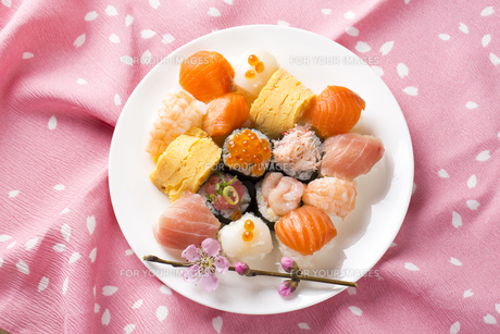 ひな寿司の写真素材 [FYI00544243]