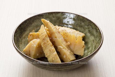 タケノコの土佐煮の写真素材 [FYI00544245]
