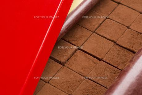 生チョコレートの写真素材 [FYI00544874]