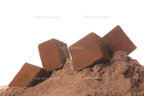 生チョコレートの写真素材 [FYI00544878]