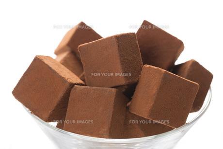 生チョコレートの写真素材 [FYI00544879]