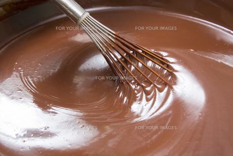 チョコレート作りの写真素材 [FYI00544884]