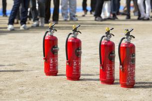 消火訓練の写真素材 [FYI00545127]