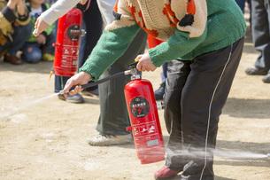 消火訓練の写真素材 [FYI00545128]