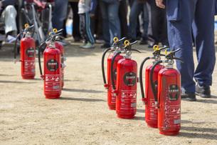 消火訓練の写真素材 [FYI00545129]