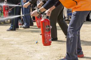 消火訓練の写真素材 [FYI00545132]