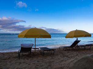ハワイ ホノルル ワイキキビーチの写真素材 [FYI00545471]
