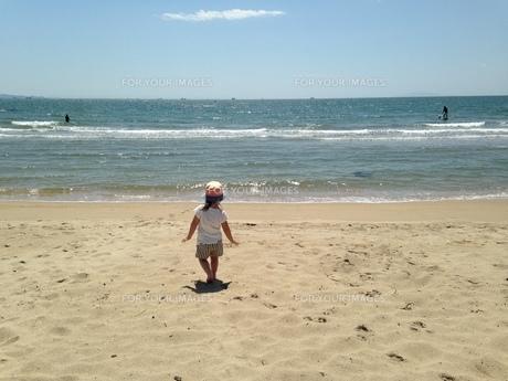 砂浜の写真素材 [FYI00545491]
