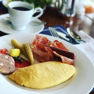 すてきな朝食の写真素材 [FYI00545514]