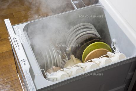 ビルドイン食洗機の写真素材 [FYI00545561]