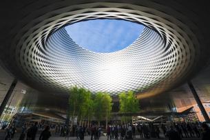 メッセ・バーゼル(Messe Basel)の写真素材 [FYI00545582]