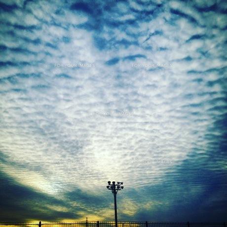 うろこ雲の写真素材 [FYI00545732]