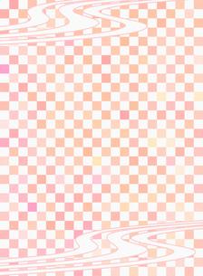 和柄 市松模様(いちまつもよう)のイラスト素材 [FYI00546842]