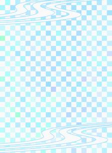 和柄 市松模様(いちまつもよう)のイラスト素材 [FYI00546847]