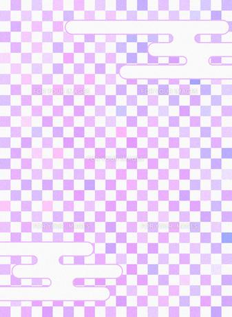和柄 市松模様(いちまつもよう)のイラスト素材 [FYI00546854]