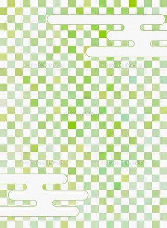 和柄 市松模様(いちまつもよう)のイラスト素材 [FYI00546859]