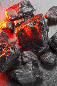 石炭の写真素材 [FYI00546951]