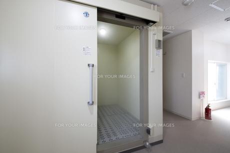 レストランの新設冷凍庫の写真素材 [FYI00547210]