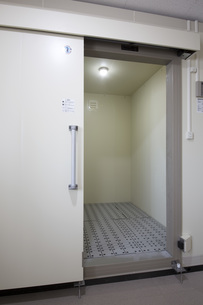 レストランの新設冷凍庫の写真素材 [FYI00547213]