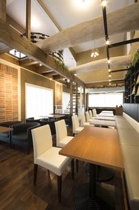 新築のレストランの写真素材 [FYI00547219]