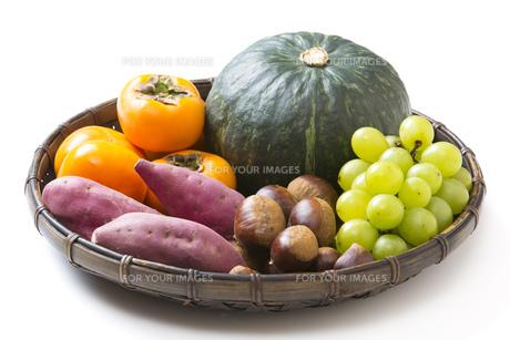 収穫の秋食材の写真素材 [FYI00547482]