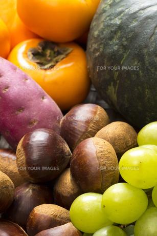 あきの食材集合の写真素材 [FYI00547488]