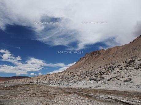 青い空の写真素材 [FYI00549526]