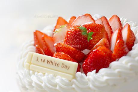 ホワイトデーケーキの写真素材 [FYI00549677]