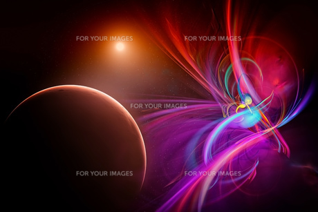 spaceの写真素材 [FYI00550537]