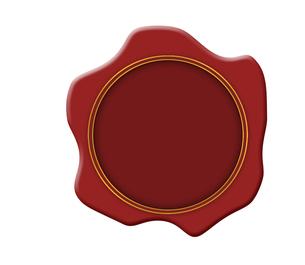 封緘 蝋印 封のイラスト素材 [FYI00551721]