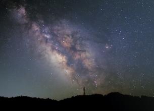 夏の天の川の写真素材 [FYI00551805]