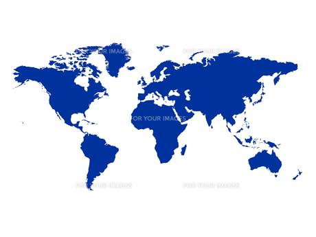 南北縮小世界地図 世界地図 グローバルのイラスト素材 [FYI00552406]