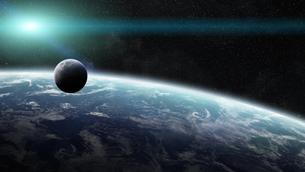 spaceの写真素材 [FYI00553188]