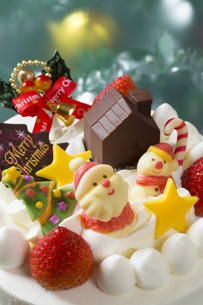 クリスマスケーキの写真素材 [FYI00554238]