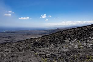 溶岩原 - ハワイ火山国立公園 -の写真素材 [FYI00554412]
