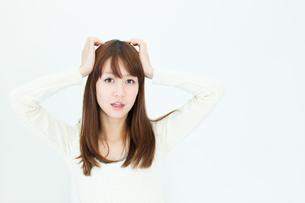 爽やかな若い女性の写真素材 [FYI00558291]