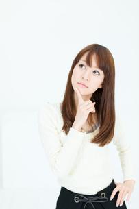 爽やかな若い女性の写真素材 [FYI00558293]