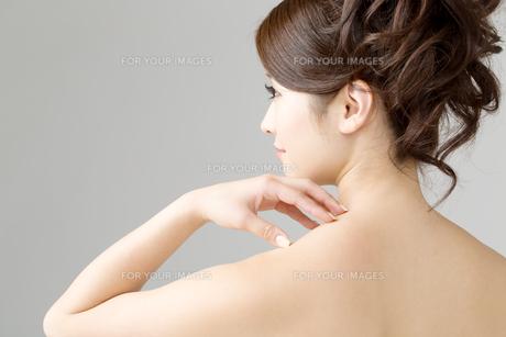 肌の綺麗な女性の写真素材 [FYI00559241]