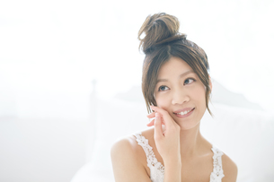 肌の綺麗な女性の写真素材 [FYI00559385]
