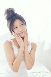 肌の綺麗な女性の写真素材 [FYI00559408]