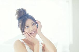 肌の綺麗な女性の写真素材 [FYI00559460]