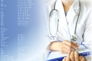 医療イメージ 健康診断の写真素材 [FYI00560294]