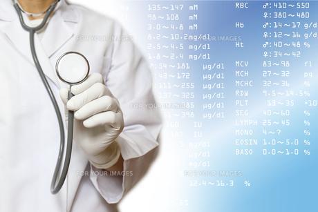 医療イメージ 健康診断の写真素材 [FYI00560295]